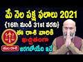 May Rasi Phalalu   16th May to 31st May   Tula Rashi 2021   Nanaji Patnaik   Pooja Tv Telugu
