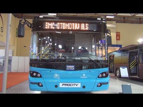 BMC Procity Bus (2016) Exterior and Interior in 3D
