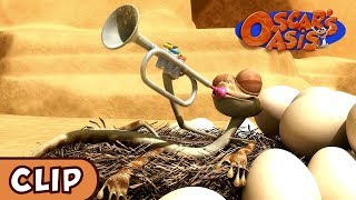 Oscar's Oasis - Chicken Piper | HQ | Funny Cartoons