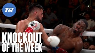 Jose Ramirez Delivers Highlight Reel KO to Become Unified Champion | KNOCKOUT OF THE WEEK