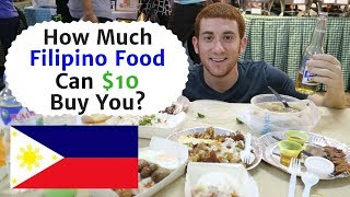 What Can $10 Get You in MANILA, PHILIPPINES? (Filipino Street Food)