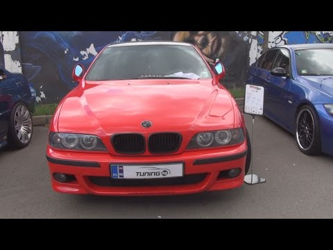 BMW E39 TDS 2.5 143 hp Tuned Exterior and Interior in 3D