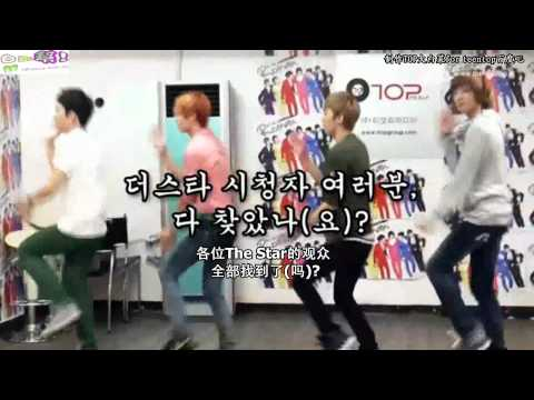 110811 THE STAR TEEN TOP CHUNJI的隱藏攝影機