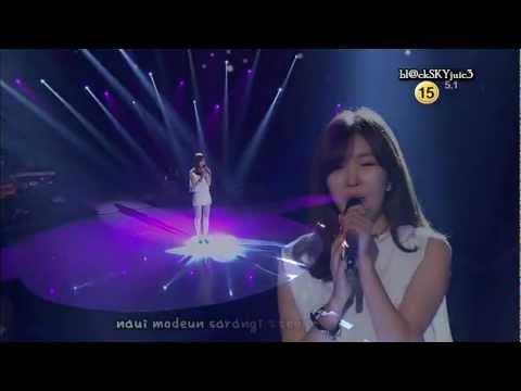 Lee Haeri (Davichi) - My Love by My Side LIVE [eng sub + roman]