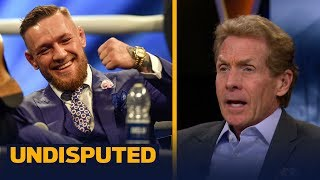 Conor McGregor 'punk'd' Draymond Green in Instagram feud says Skip Bayless | UNDISPUTED