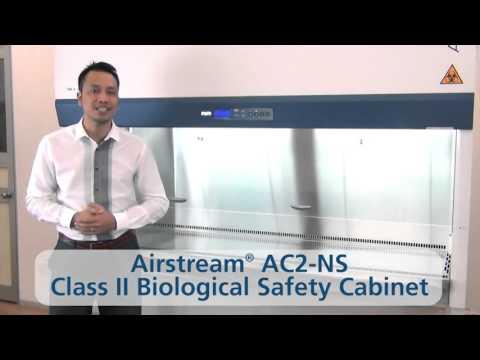 Esco Airstream Class 2- biologische veiligheidskast - Zuinig, stil en compleet
