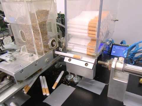 Stopfmachine Zigarettenherstellung Vollautomat Rolling
