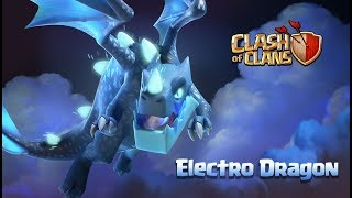 Meet The Electro Dragon! (Clash of Clans Town Hall 12 Update)