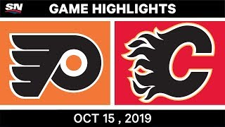 NHL Highlights | Flyers vs. Flames – Oct. 15, 2019