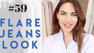 #59 HOW TO STYLE FLARE JEANS OUTFIT | LOOKBOOK 2019