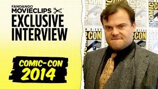 Jack Black Exclusive Interview: Comic-Con San Diego (2014) HD