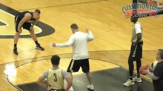 Matt Painter's 3-on-3 Man-to-Man Defensive Drill!