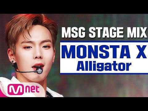 [MSG STAGE MIX] MONSTA X - Alligator