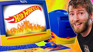 I paid WAY too much for this Hot Wheels PC!