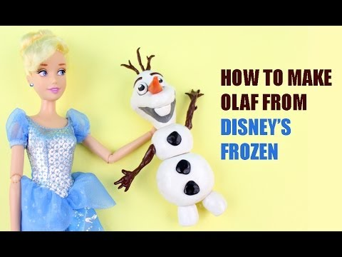 How to make Olaf from Disney Frozen