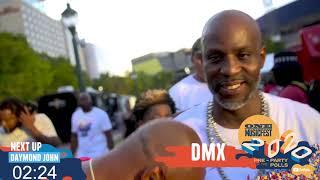 DMX shuts down ONE Musicfest