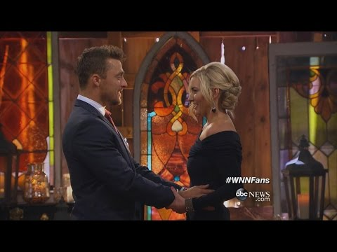 """The Bachelor"" Finale: Chris Soules Proposes to Whitney"