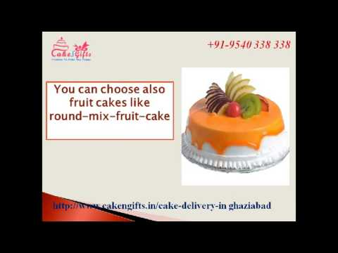 Online cake delivery services in ghaziabad via CakenGifts.in