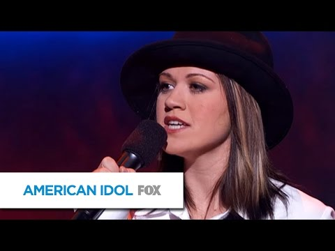 "Kelly Clarkson Sings ""Natural Woman"" by Aretha Franklin - AMERICAN IDOL"