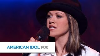 """Kelly Clarkson Sings """"Natural Woman"""" by Aretha Franklin - AMERICAN IDOL"""