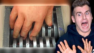 Guy Shreds His Hand (Real Or Fake?)
