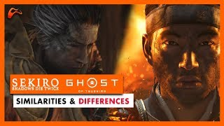 Ghost of Tsushima Vs Sekiro Shadows Die Twice; Similarities and Differences