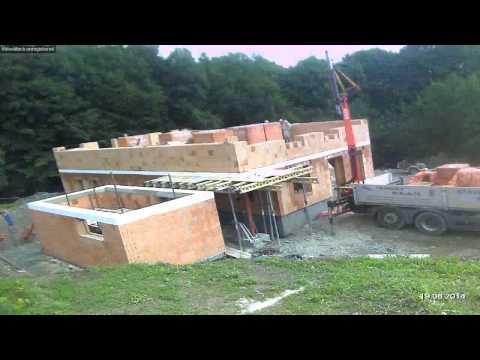Takto vyzerá stavba domu v dvadsiatich minútach
