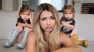 TAYTUM AND OAKLEY DON'T WANT TO BE TWINS ANYMORE! *SAD*