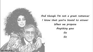 Lady Gaga & Tony Bennett - Anything Goes Lyrics