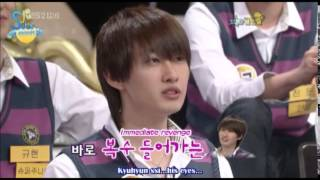 Kyuhyun's first impression of Donghae and Eunhyuk! (Eng/Esp)