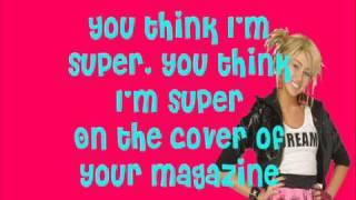 Hannah Montana - SuperGirl (with lyrics on-screen)
