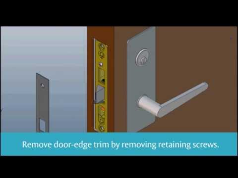 Lock Installation | Medeco Aperio M100 | SOS Locksmith | 212-206-7777
