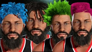 NBA 2k16 My Career Gameplay Ep. 1 - Neal Bridges Creation! High School Selection & NEW Hair Styles!