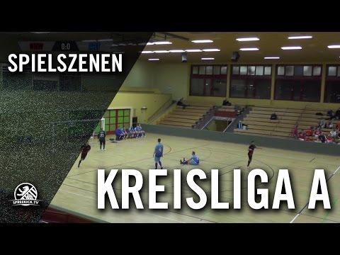 SV Norden-Nordwest 1898 - FC Arminia Tegel (Hallenturnier der Kreisliga A, Vorrunde, Gruppe 3) - Spielszenen | SPREEKICK.TV