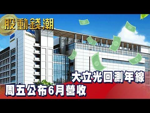 大立光回測年線 周五公布6月營收 - 老王《股動錢潮》2019.07.03