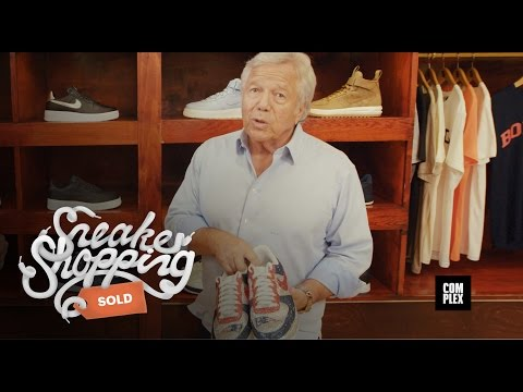 Robert Kraft Goes Sneaker Shopping with Complex