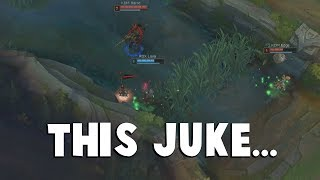 This has to be one of the Best Competitive Jukes ever... | Funny LoL Series #245