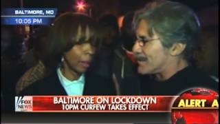 Geraldo Rivera has on-air fight with Baltimore protester