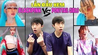 LẦN ĐẦU XEM KILL THIS LOVE của BLACKPINK và PONYTAIL GIRLS | CrisDevilGamer Reaction