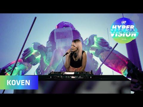 Koven DJ Set - visuals by ASZYK