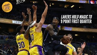 How the Lakers Held Orlando to 9 Points in the First Quarter