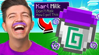 Minecraft But You Can Drink YouTubers...
