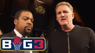 Ice Cube and Michael Rapaport | BIG3 on FS1 | FOX SPORTS