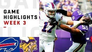 Bills vs. Vikings Week 3 Highlights   NFL 2018