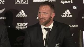 All Blacks post match press conference after their 36-0 win over the Wallabies