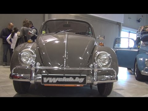 Volkswagen Beetle Automatic (1969) Exterior and Interior in 3D
