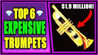 TOP 6 MOST EXPENSIVE TRUMPETS (**$1.9 MILLION**)