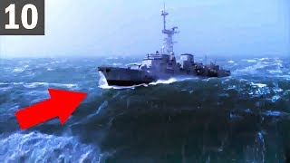 10 Ships Hit by MASSIVE Waves