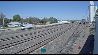 Kearney, Nebraska USA - Virtual Railfan LIVE (Demo)