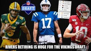 How Philip Rivers Retiring is BIG for the Minnesota Vikings Draft. HUGE